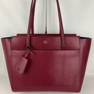 New Tory Burch Parker Leather Tote